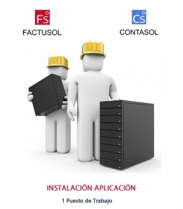 Instalación FactuSol ContaSol Monopuesto