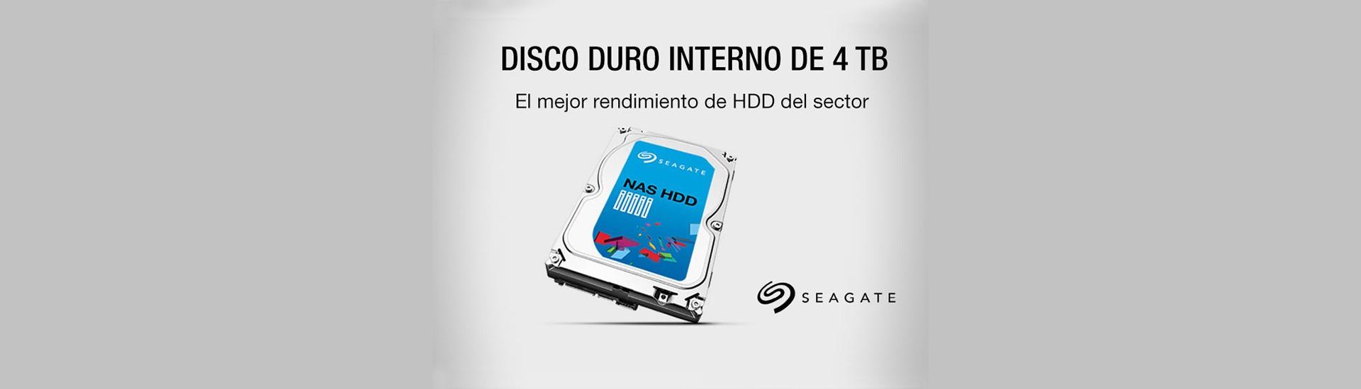 Disco duro interno 4Tb Seagate